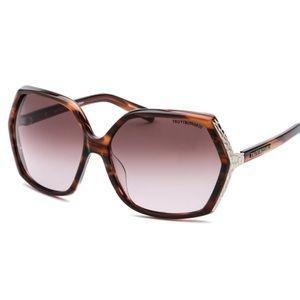 Havana Tru Trussardi Square Sunglasses